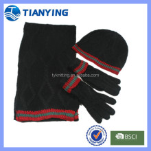 wholesale thinsulate beanie hat scarfs gloves set