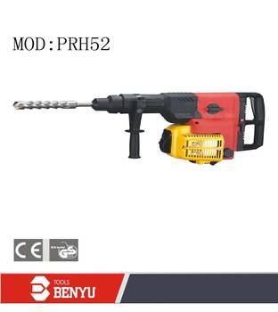 petrol rotary hammer 51.7ml,52mm Model PRH52