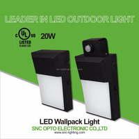 UL listed 20W LED Mini Wallpack light wall mounted led light from Shenzhen China