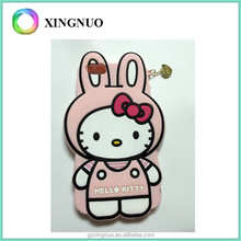 Hello Kitty Shockproof 3D Soft Silicone Skin Case Cover For iphone 6 plus
