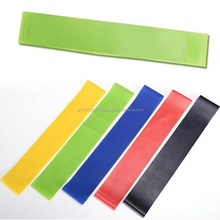 Fitness Yoga Elastic Stretch Custom Resistance Exercise Band loop