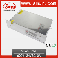 600W 24V 25A Switched Mode Power