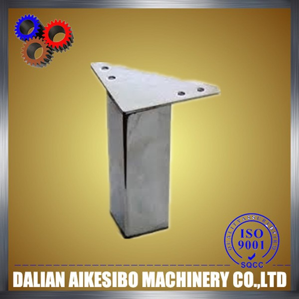 steel sheet metal table leg brackets