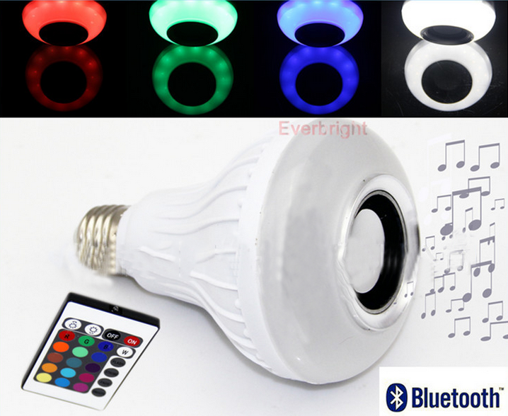 Fashion Design Household LED Blub Powered Bluetooth Speaker Parts Music Sound Box
