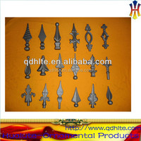 forging iron garden gate metal spikes for fences