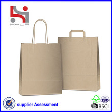 Dongguan factory Haiying oem eco packaging carry tote paper handbag in los angeles