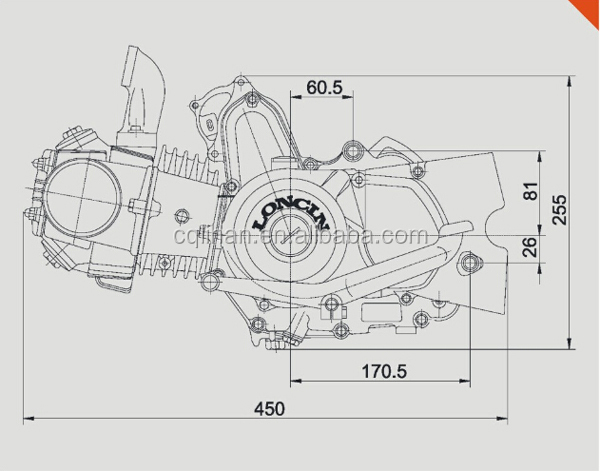 loncin electric start manual clutch loncin 125cc engine buy loncin rh alibaba com loncin 125 engine manual loncin 125 service manual