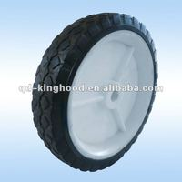 7 inch rubber wheel for lawnmower,hand truck,hand trolley