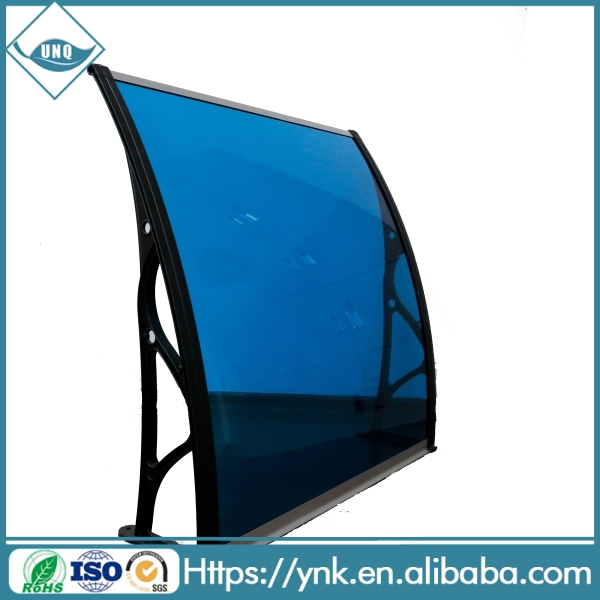 transparant polycarbonate awning/canopy roof /polycarbonate solid sheet