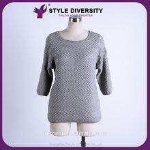 Luxury Quality Soft Fancy Design Stripe Sweater Pullover