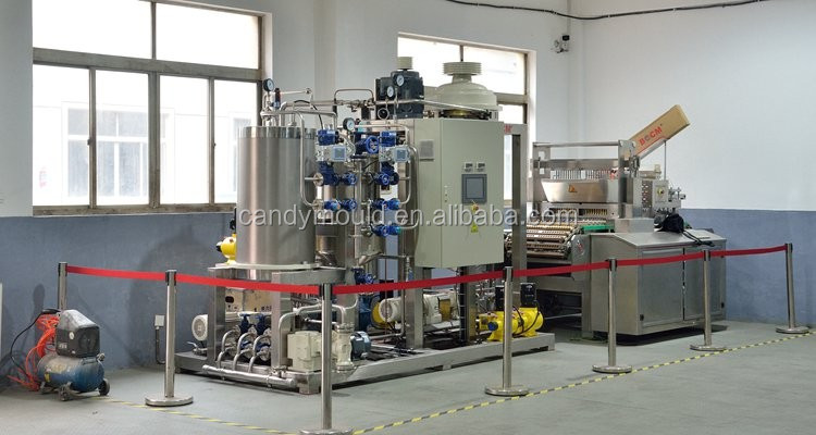 Lollipop production line Automatic Jelly /Gummy Candy making machine with low price
