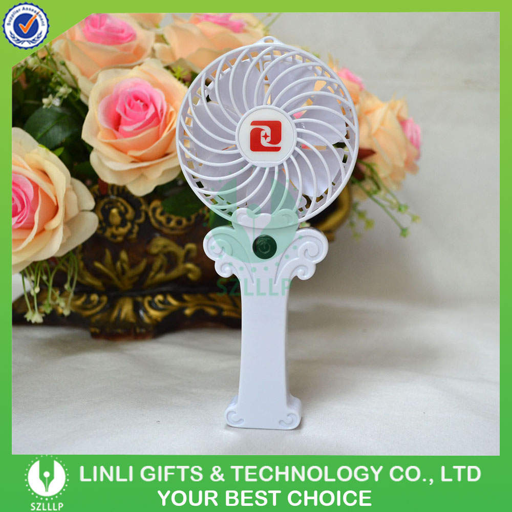 2016 New Hot Portable Mini Rechargeable Fan With Battery For Sale