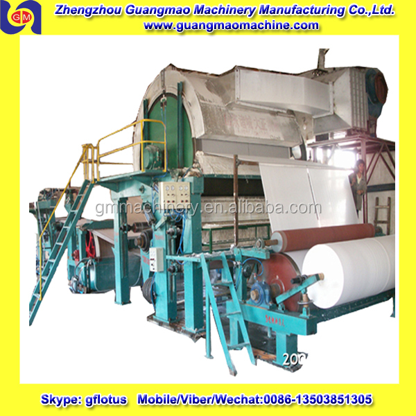 787 mm small toilet paper making machine,tissue production line with High Quality and Competitive Price