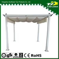 Innovative Outdoor gazebo steel frame 10x10