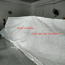 Marine air / dry powdery large durable drawstring dumpster container liner bags 1 ton jumbo bag for cargo