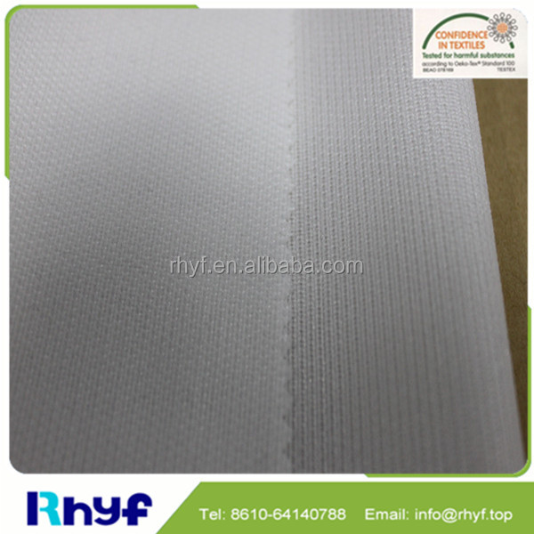Wholesale woven fusing interlining fabric for women clothes