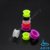 Colorful ear plugs ear piercing body jewelry silicone ear tunnel
