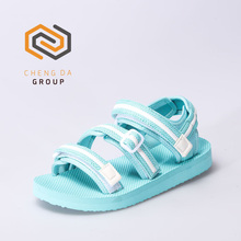 Fashion Ladies Fancy Flat Sandal with Quality TPR Sole