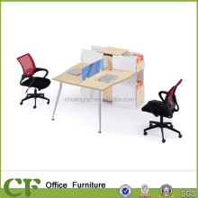 CF 2 legs powder coating frame combination office partitions China office furniture provider