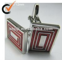 New Product Business Gift Use Red Jewelry Cufflink