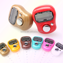 HOT Electronic Row Counter Finger Ring Golf Digit Stitch Marker LCD Tally Counter