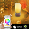 light with wireless control free APP 4w led smd candle light