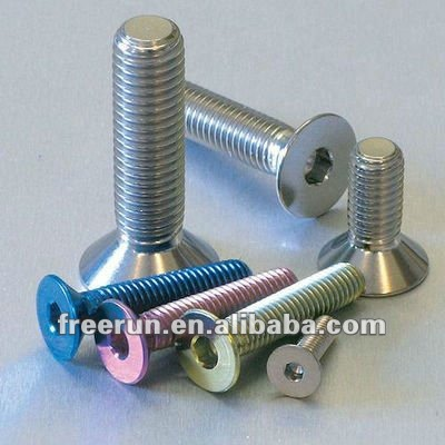 High precision and lowest price Titanium Hexagon Head Socket Screws