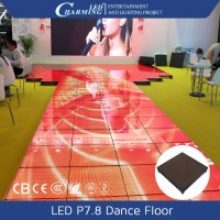 Video display dmx led dance floor P7.8 in promotion (one month)