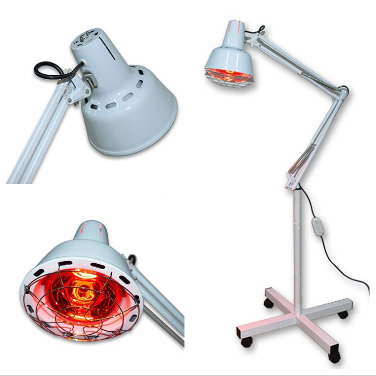 100-275W Beauty Salon Infrared Lamp with rolling base