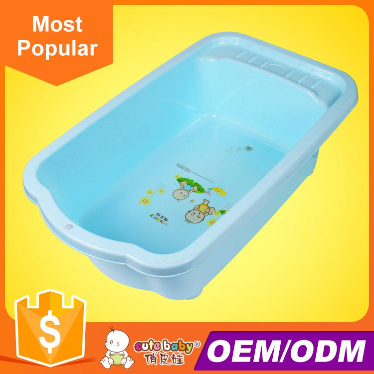2016 the beautiful design of plastic children baby baby bath tub retro styleeuropean baby bath tub plastic wash basin pipe
