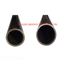welded black round steel pipe carbon steel for gas and oil pipeline API standard