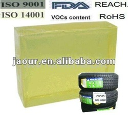 pur hot melt adhesive (block shape) for tires adhesive label