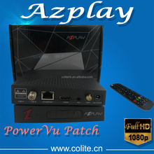 Best Selling Good Quality Original Manufacturer High Definition Satellite Receiver Azplay HD with 3G Wifi free IPTV iks
