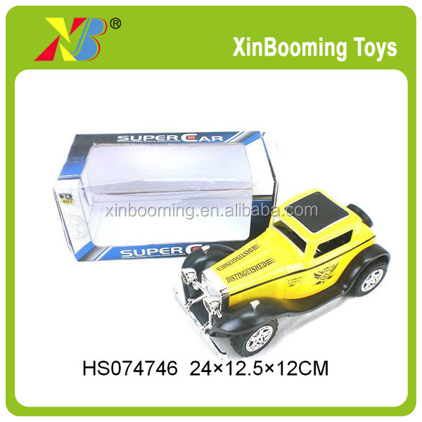 Friction Power toy 3 colors classic car