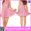 Wholesale high quality fashion short skater dress