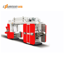 CX1000-CIA2 money save type 2 colors plastic film and paper flexo money printing machine
