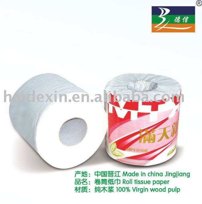 3ply core family embossed toilet tissue,bathroom paper