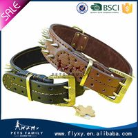 Durable hot-sale dog collars leather