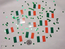 Wedding Table Scatters Confetti Flags - Ireland