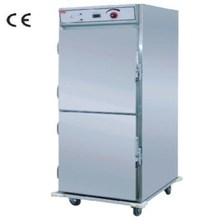 Hot sales food display Showcase Warmer Cart ,&Restaurant with food dispaly warmer(OT-11-21)