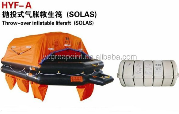 SOLAS Throw-over Self Inflating Life Raft Price