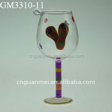 wholesale glass water goblets hanging