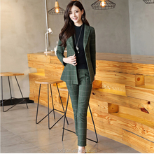 Custom Fashion Formal wear suits elegant office lady career uniforms casual suit and trousers