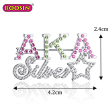 Fancy bulk brooch pin china wholesale brooch custom letter rhinestone brooch pins