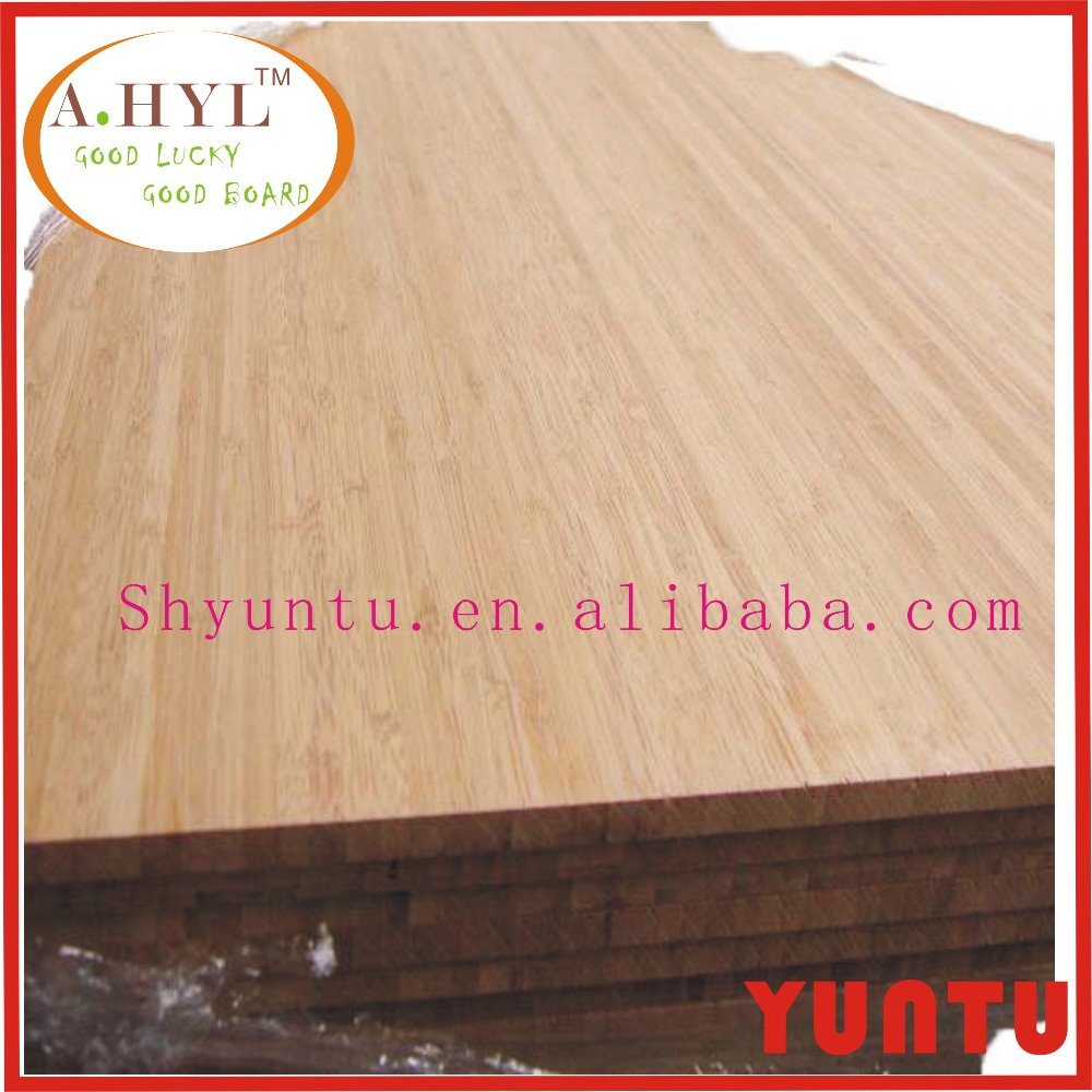 flat crush indoor waterproof bamboo plywood for funiture supplier