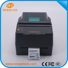 4'' Thermal transfer bar code label sticker printer machine for address mark printing