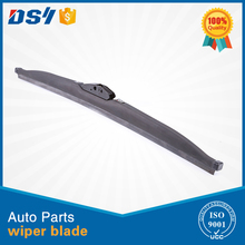Graphite coated clear view snow wiper blade window wiper with ice scraper