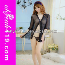 2015 New arrival wholesale hot sexy girl black baby doll