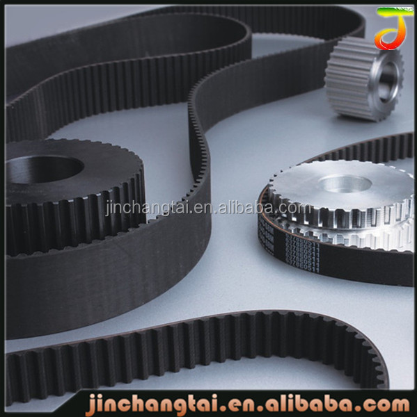 2016 customized timing v belt industrial in rubber belts