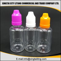 best overnight shipping 30ml Red plastic dropper bottles with long tip e juice for esmoking juice with wine red cap